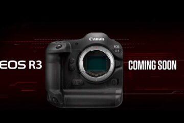 Canon annuncia la fotocamera mirrorless EOS R3 pro in fase di sviluppo
